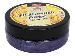 Viva Decor 3D Stamp Paint 1.7 fl oz Violet