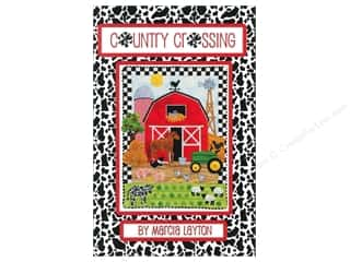 Farms Clearance Books: Marcia Layton Designs Country Crossing Pattern