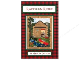 rack / handed animal: Marcia Layton Designs Raccoon Ridge Pattern