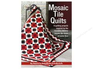 Books Blue: Landauer Mosaic Tile Quilts Book by Patricia Sanabria-Friederich