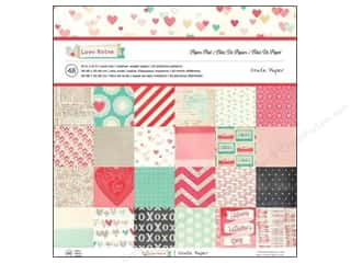 Crate Paper Paper Pad Love Notes 12x12 48pc