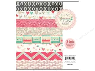 Crate Paper Paper Pad Love Notes 6x6 36pc