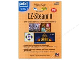 Pellon: Pellon EZ-Steam II Fusible Web 12 x 9 in. 5 pc.