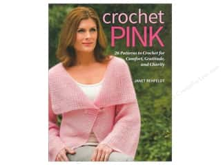 Weekly Specials Aunt Lydias Bamboo Crochet Thread Size 10: Crochet Pink Book