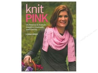 That Patchwork Place Crochet & Knit Books: That Patchwork Place Knit Pink Book by Lorna Miser