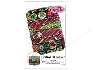 "Purses 14"": Eazy Peazy Take 'N Sew Pattern"