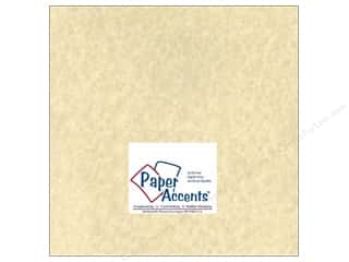 Cardstock  12x12: Cardstock 12 x 12 in. #202 Parchment Cream by Paper Accents (25 sheets)