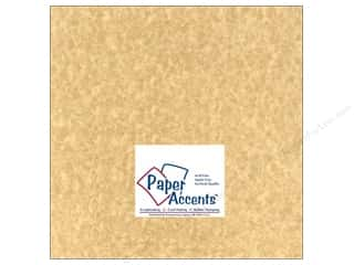 Leatherwork Scrapbooking & Paper Crafts: Cardstock 12 x 12 in. #210 Parchment Aged by Paper Accents (25 sheets)