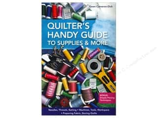 "Guides 4"": C&T Publishing Quilter's Handy Guide to Supplies & More Book by Dawn Cameron-Dick"