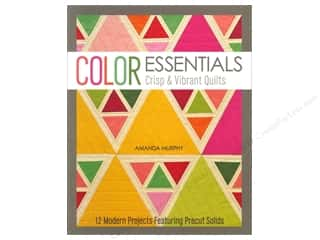 Books inches: Stash By C&T Color Essentials Crisp & Vibrant Quilts Book