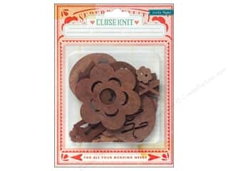 Crate Paper Crate Paper Embellishments: Crate Paper Embellishments Close Knit Wood Veneer