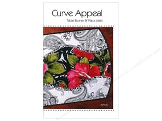 Chronicle Books $15 - $18: Tiger Lily Press Curve Appeal Table Runner & Place Mats Pattern