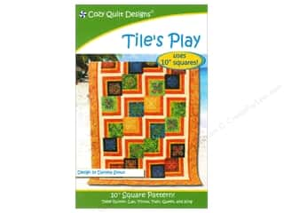 Cozy Quilt Designs Clearance Books: Cozy Quilt Designs Tile's Play Pattern