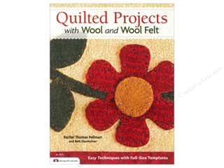 Design Originals Flowers: Design Originals Quilted Projects With Wool And Wool Felt Book