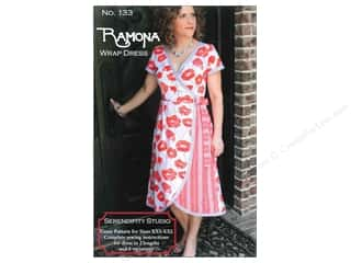 Serendipity Studio Clearance Patterns: Serendipity Studio The Ramona Wrap Dress Pattern