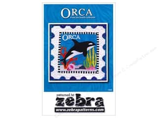 Books & Patterns Vacations: Zebra Orca Stamp Pattern