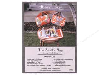 Fat Quarters Patterns: Abbey Lane Quilts The Beatle Bag With Inserts Pattern