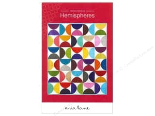 Clearance Abbey Lane Quilts: Aria Lane Hemispheres Pattern