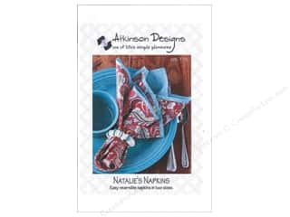Atkinson Design Atkinson Designs Patterns: Atkinson Designs Natalie's Napkins Pattern