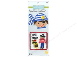Dritz Babyville Boutique Applique Little Pirates 2 pc.