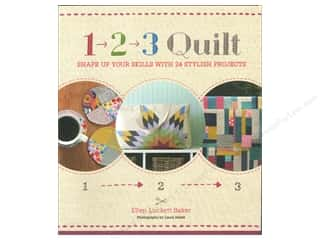 Chronicle Books Chronicle Stationery: Chronicle 1-2-3 Quilt Book by Ellen Luckett Baker and Laura Malek