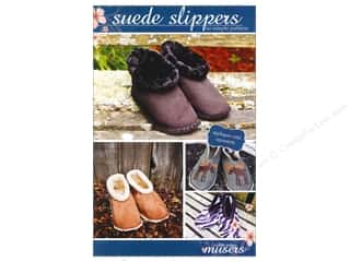 McKay Manor Musers Sewing Construction: Mckay Manor Musers Suede Slippers Adult Size Pattern