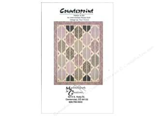Mountainpeek Creations Quilt Patterns: Mountainpeek Creations Counterpoint Pattern