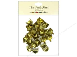 The Bead Giant Nailhead Pyramid 3/8 in. Gold 26 pc.