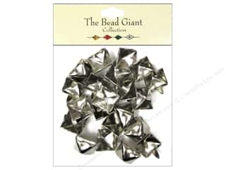 The Bead Giant Nailhead Pyramid 1/2 in. Silver 22 pc.