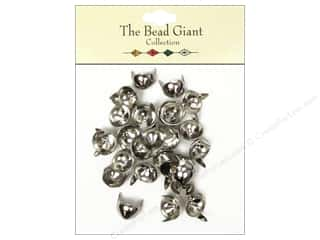 The Bead Giant Nailhead Cone 3/8 in. Silver 28 pc.
