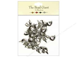 Tin Containers Clearance Crafts: The Bead Giant Collection Nailhead Cone 7/16 in. Silver 24 pc.