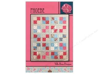 Brookshier Design Studio Charm Pack Patterns: Villa Rosa Designs Phoebe Pattern