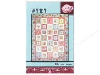 Quiltsillustrated.com Jelly Roll Patterns: Villa Rosa Designs Wanda Pattern