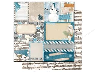 Bo Bunny Paper 12x12 Woodland Winter Cozy (25 piece)
