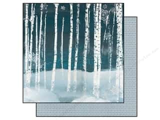 Bo Bunny 12 x 12 in. Paper Woodland Winter Frosty Morning (25 piece)