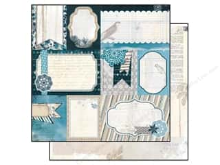 Bo Bunny Paper 12x12 Woodland Winter Journal (25 piece)