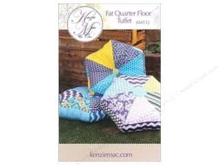 Quilted Trillium, The Fat Quarter / Jelly Roll / Charm / Cake Patterns: Kenzie Mac & Co Fat Quarter Floor Tuffet Pattern