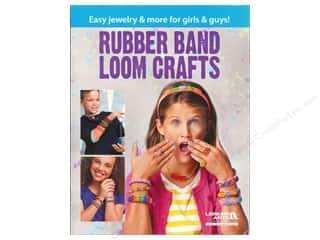 Leisure Arts: Leisure Arts Rubber Band Loom Crafts Book