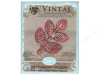 Clearance Blumenthal Favorite Findings: Sizzix Embosslits Die Branching Leaf