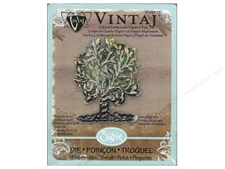 Previewing Aids Clearance Crafts: Sizzix Embosslits Die Orchard Tree by Vintaj