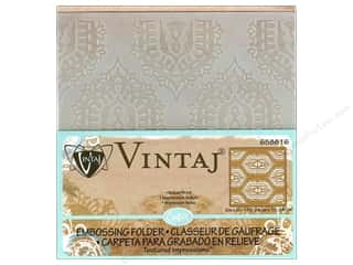 Sizzix Emboss Folder Vintaj TI Indian Print