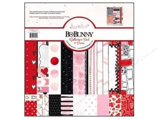 Love & Romance Hot: Bo Bunny 12 x 12 in. Paper Collection Pack Head Over Heels
