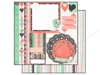 Bo Bunny Paper 12x12 Pincushion Patchwork (25 piece)