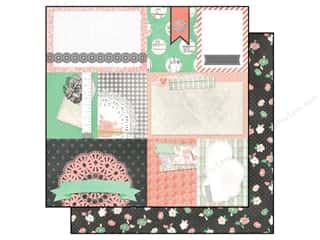 Bo Bunny 12 x 12 in. Paper Pincushion Seamstress (25 piece)