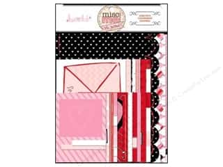 Stamped Goods Valentine's Day Gifts: Bo Bunny Misc Me Journal Contents Head Over Heels