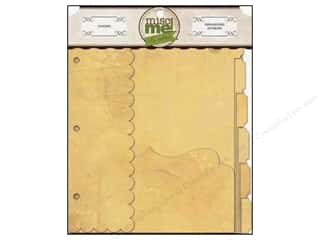 Blank Card & Envelopes: Bo Bunny Misc Me Dividers Kraft