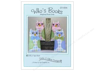 Susie C Shore Designs Children: Susie C Shore Who's Books Pattern