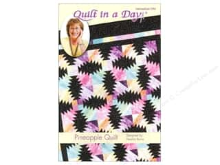 Patterns Quilting Patterns: Quilt In A Day Pineapple Quilt Pattern