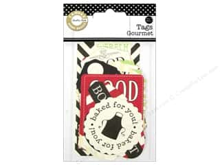 Canvas Home Basics Canvas Corp Embellishments: Canvas Corp Printed Tags Gourmet