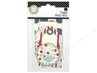 Canvas Corp Printed Tags Baby Boy